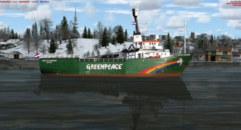 Arctic Sunrise Icon